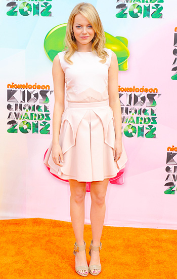 Emma Stone Kids Choice Award 2012