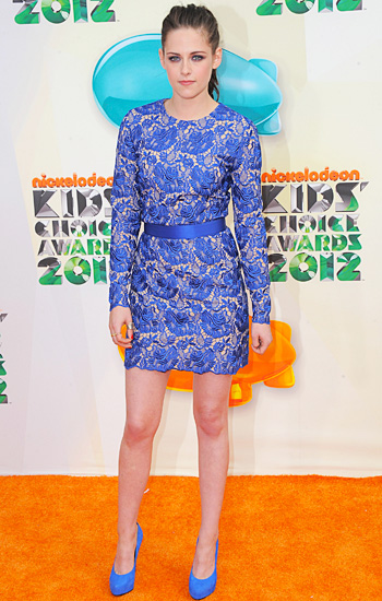 Kirsten Steward Kids CHoice awards 2012