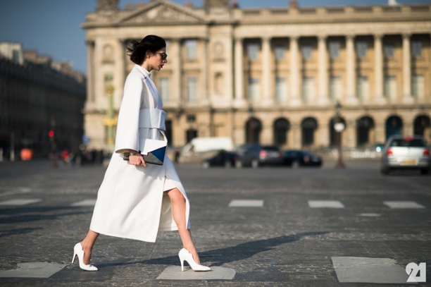 All White Fashion Trend