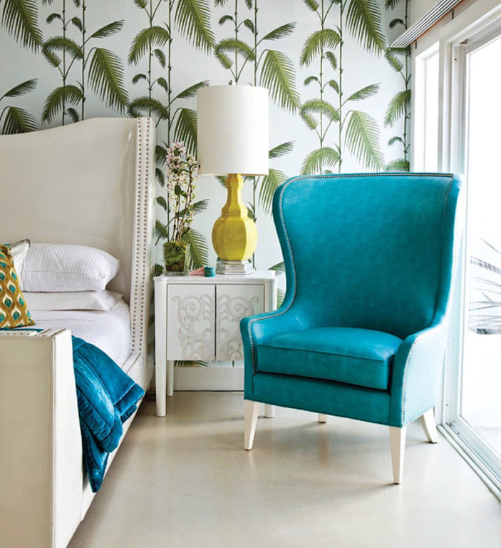 Tropical decor trend luxo