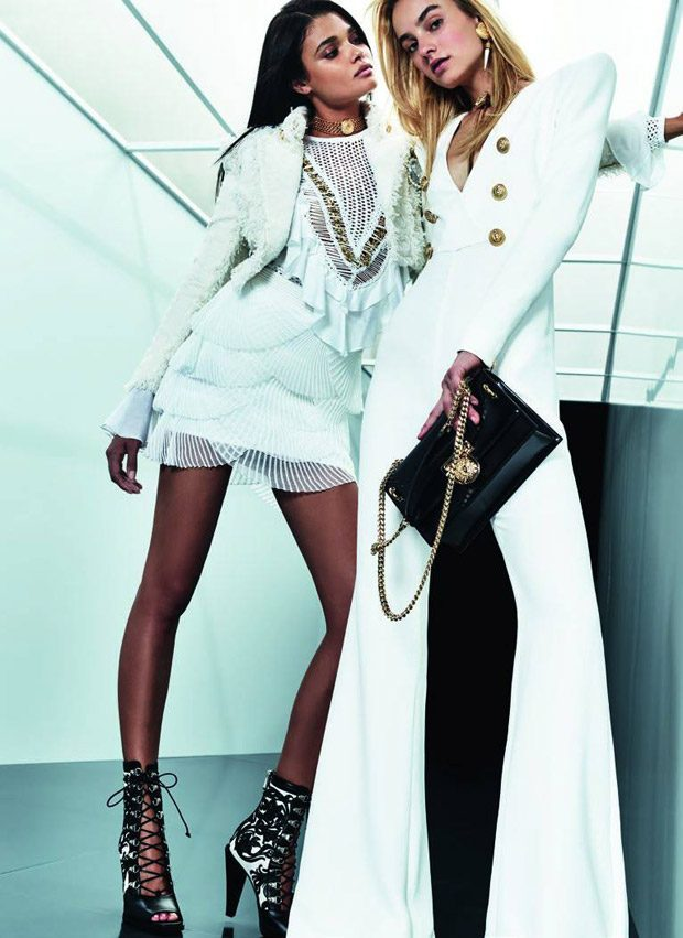 Balmain Resort 2018 Womenswear Collection