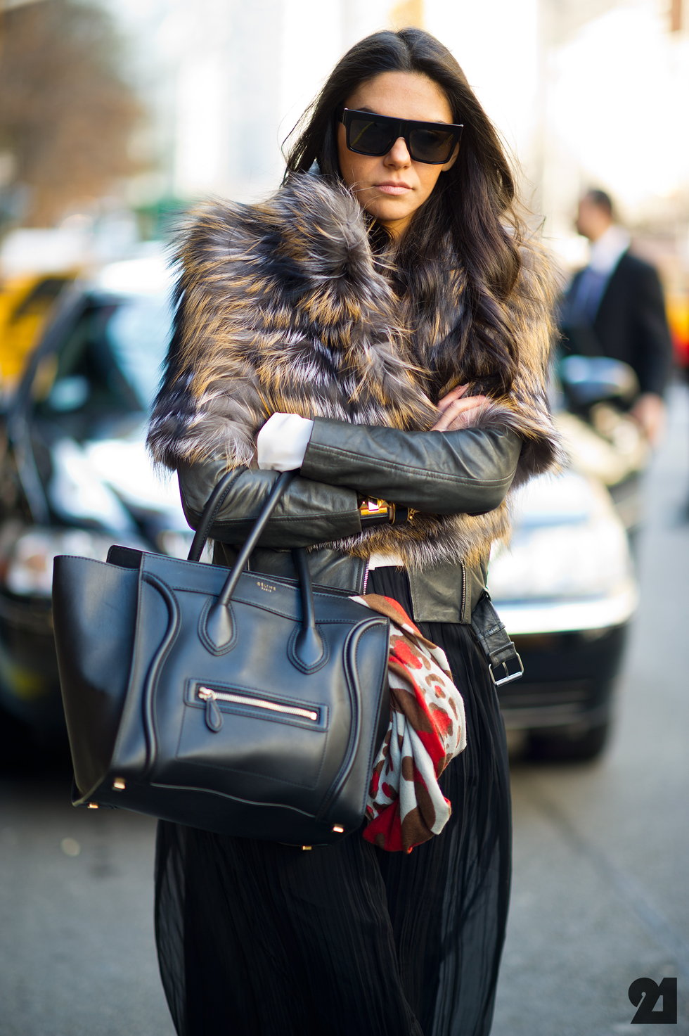 How To Wear Your Fur Scarf