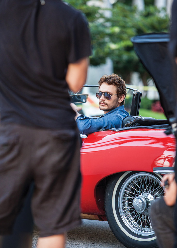 James Franco for Gucci Eyewear