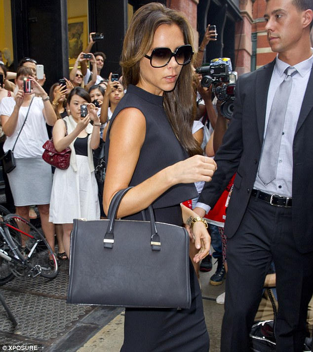 Victoria Beckham Shopping in NY