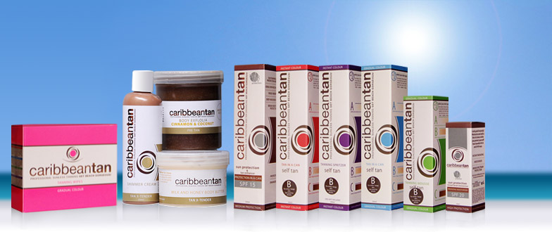 Caribbean Tan products