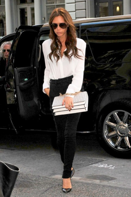Victoria Beckham shopping in New York