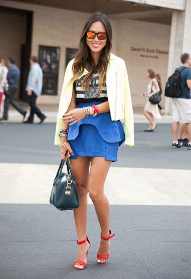 Street Stylers at New York Fashion Week 2012