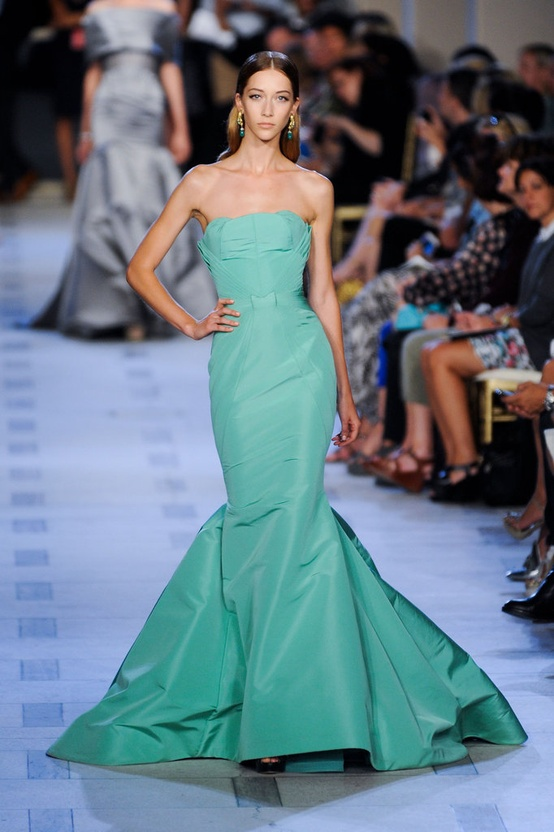 Zac Posen at New York Fashion Week 2012
