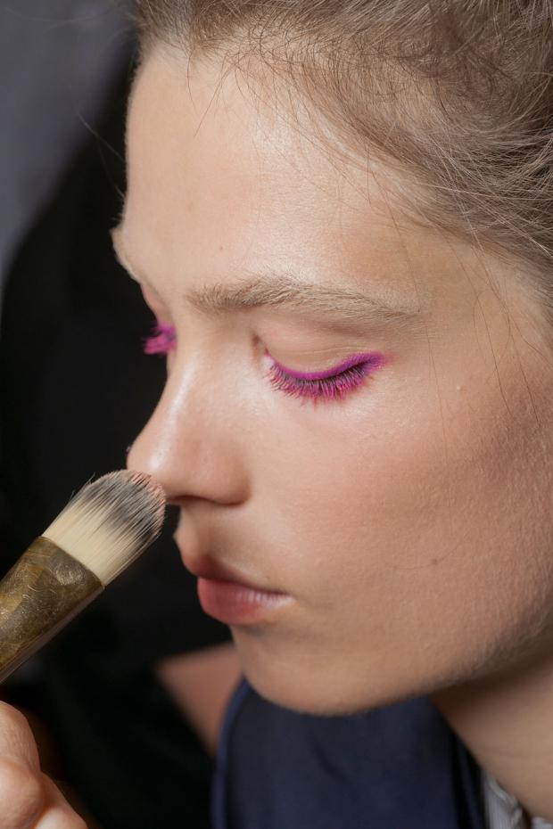 Backstage Beauty at NYFW 2012