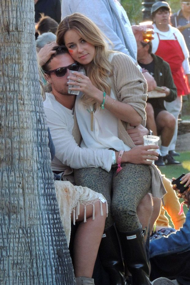 Lauren Conrad at Coachella Festival 2012
