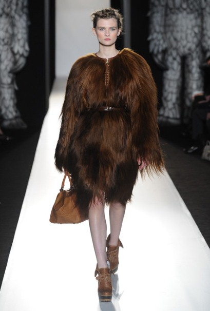 Fur fashion trend 2012