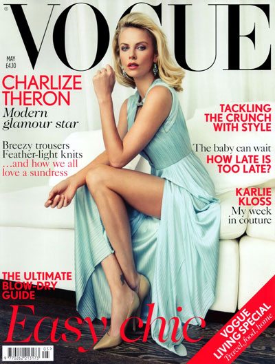 Charlize Theron Vogue UK May 2012