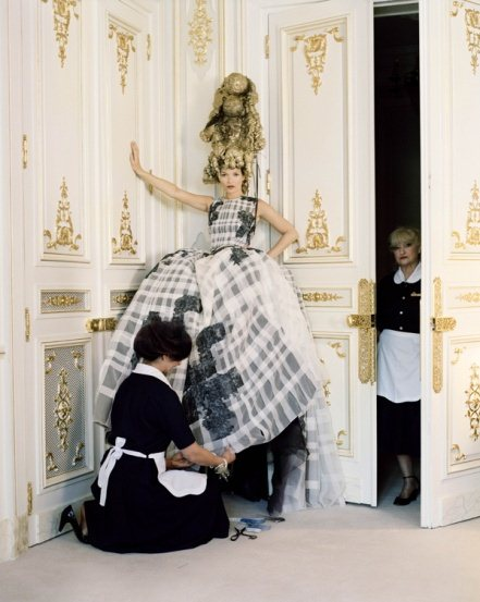 Kate Moss as Marie Antoinette for Vogue US
