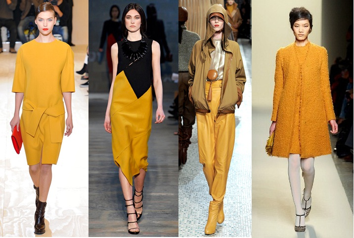Fashion colours for winter 2012