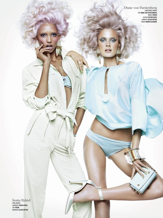 Double Vision with V Magazine