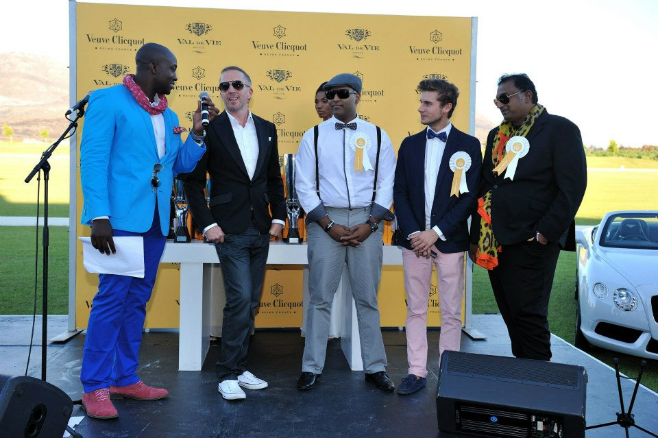 Best Dressed at the Veuve Clicquot