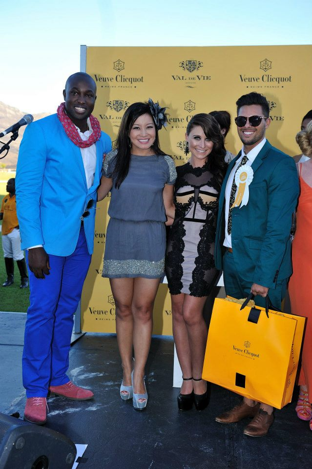 Best Dressed Couple at the Veuve Clicquot