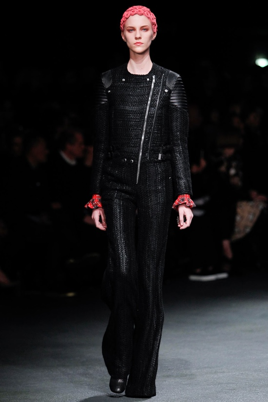 Black Fashion Trend 2013 Winter