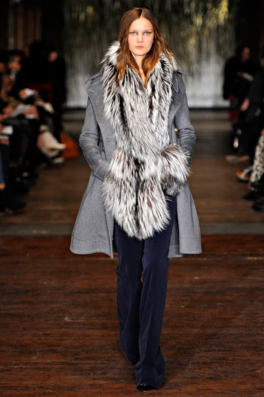 Fur fashion trend