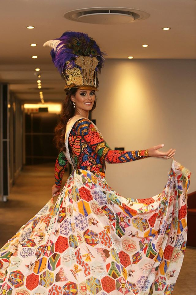 Rolene Strauss for Miss World