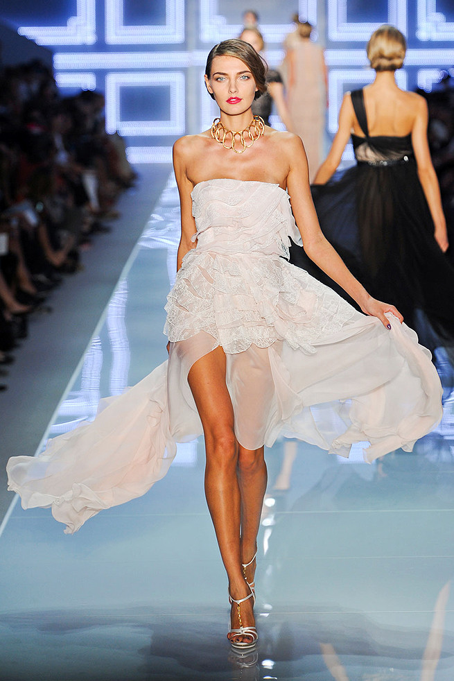 Fashion runway inspirations for Spring 2012