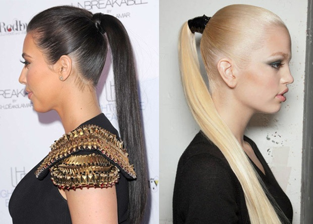 The Sleek Tight Ponytail Hair trend