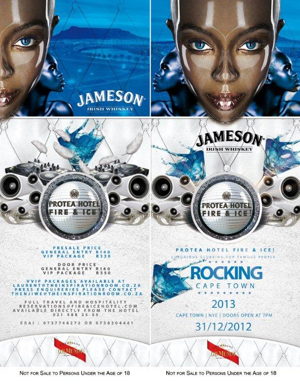 Rocking Cape Town Jameson 2012 New Years Event