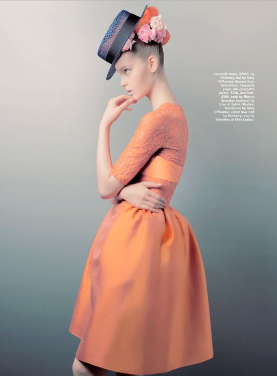 Marie Claire Australia Fashion Editorial November 2012