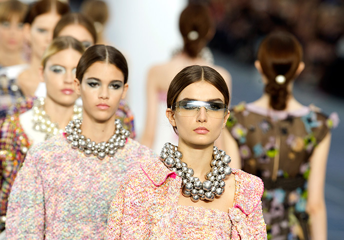 Chanel Spring Summer 2013 paris fashion week