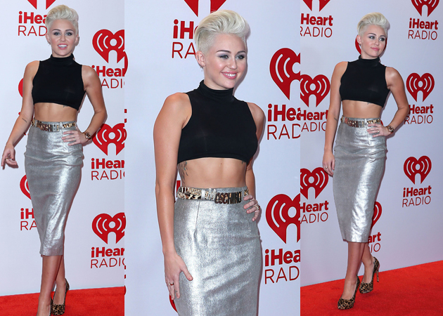 miley cyrus new look