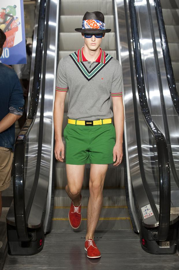 Moschino SS 2013 Men's Collection