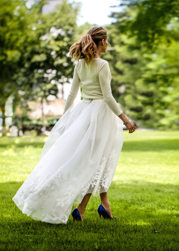 Olivia Palmero wedding dress