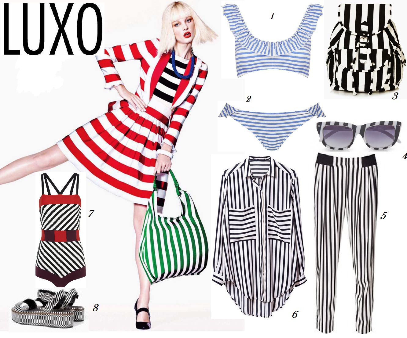 Get the look with stripes