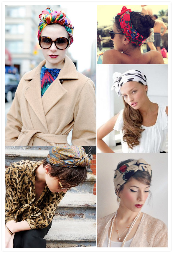 Scarves and Turban trend 2012