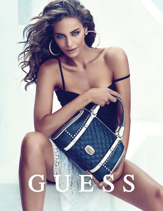 guess fall winter accessories 2014