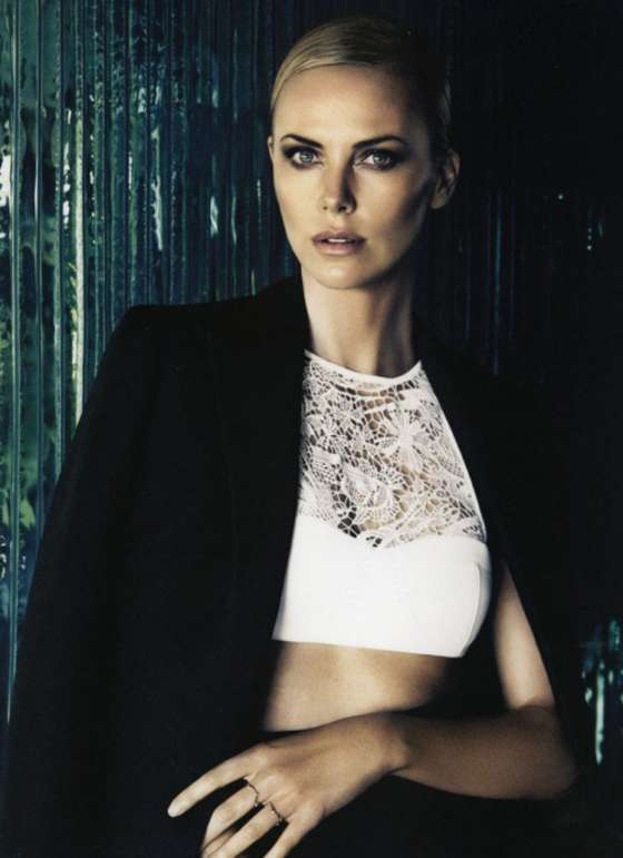 Charlize Theron for Dior Magazine `