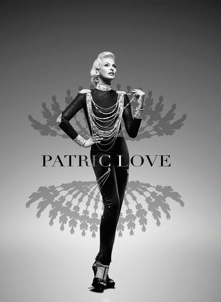 Linda Evangelista Is The New Face of Patric Love