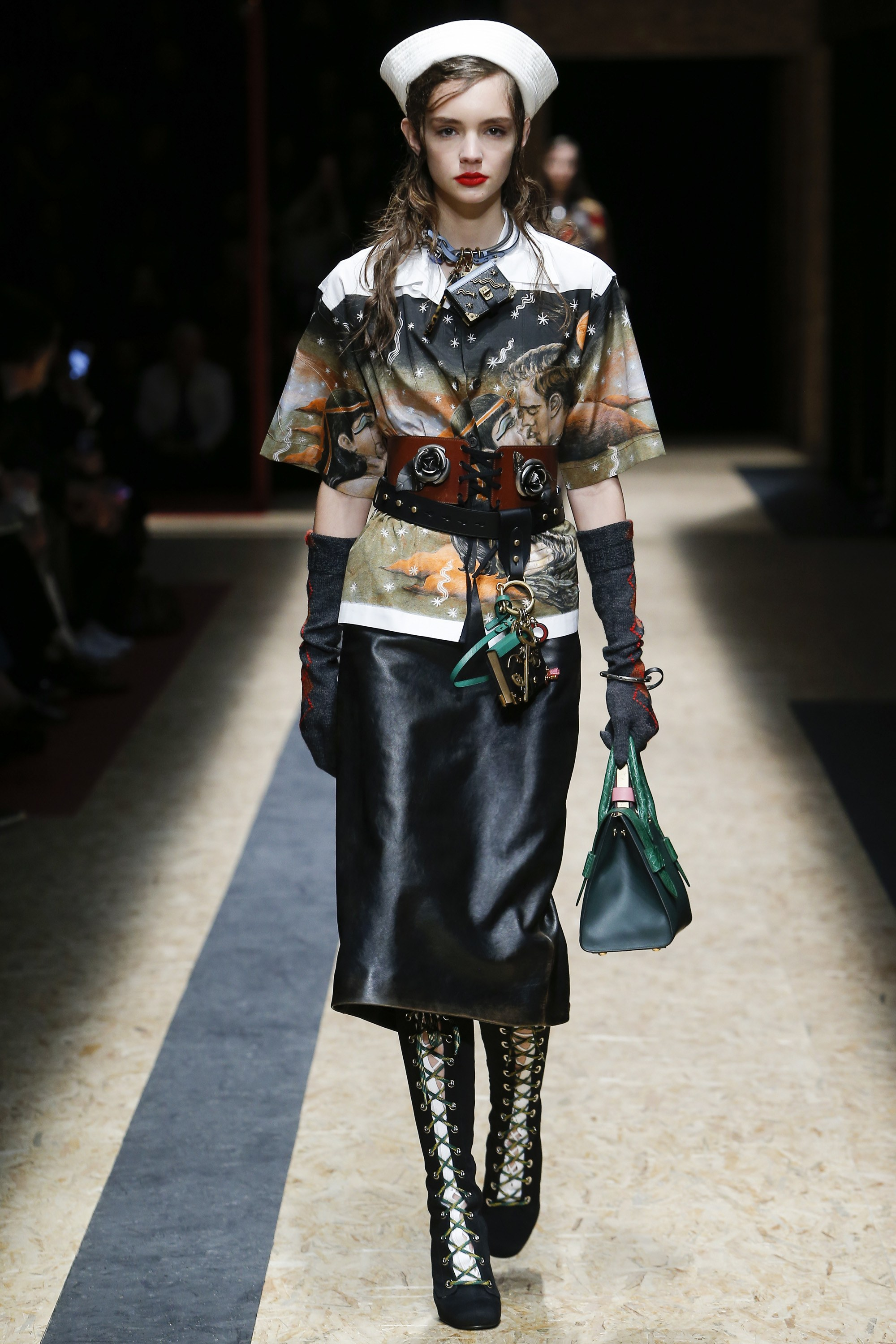 Prada's Christophe Chemin Collaboration