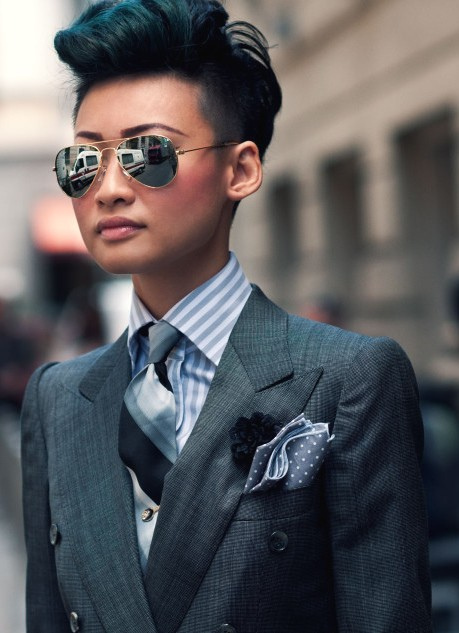 Esther Quek Street Styler of the week LUXO