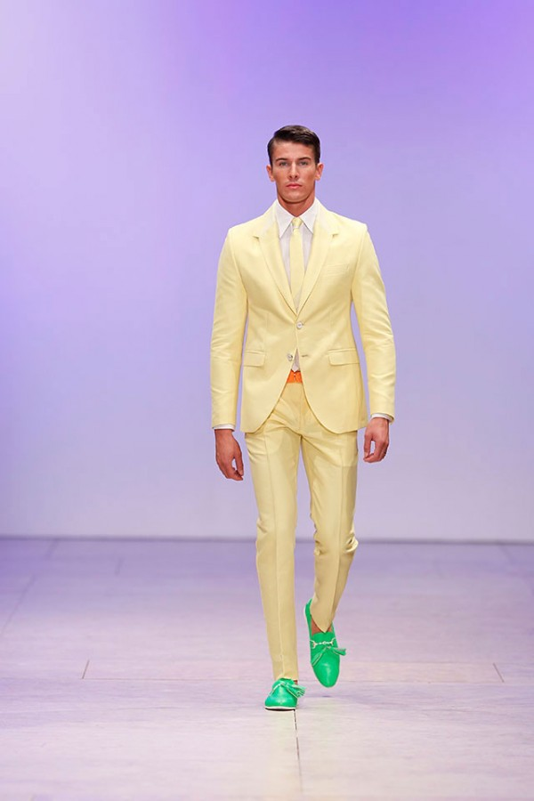 Pastels for Menswear 2014