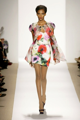 Floral trend for SS 2014 LUXO