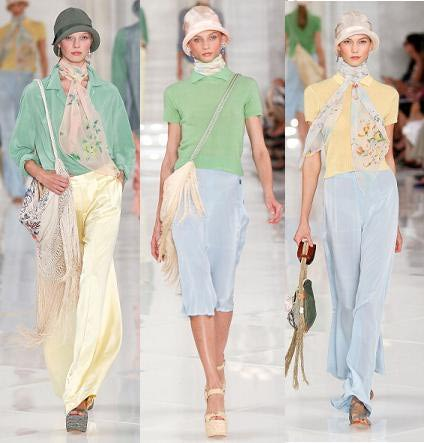 Pastels for SS 2014