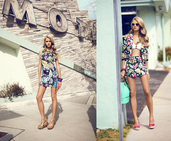 Tropical Trend Fashion Summer 2013