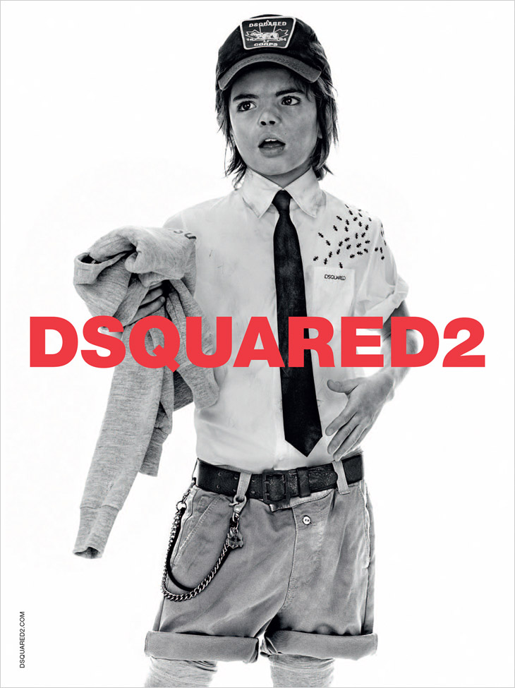 dsquared for kids ss 2014