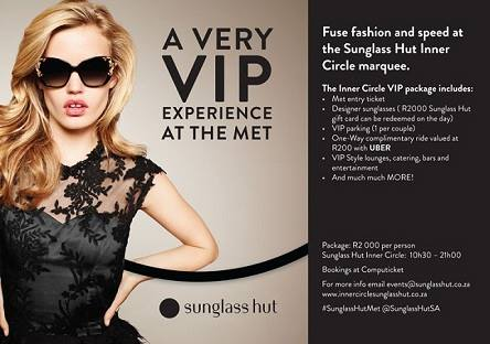 sunglass hut party at the j&b met