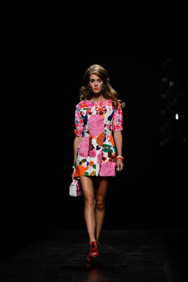 fushia florals fashion trend summer 2013