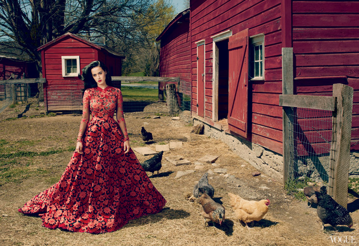 Katy Perry VOgue US
