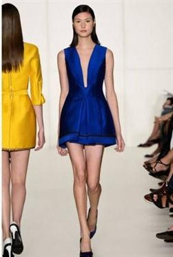 Blue and Yellow color trend