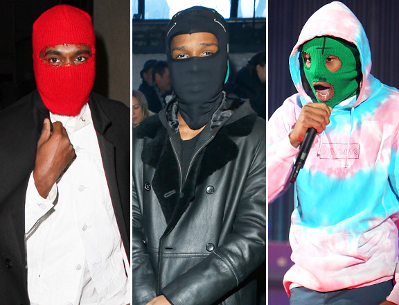 The Beanie/Mask Accessory Trend