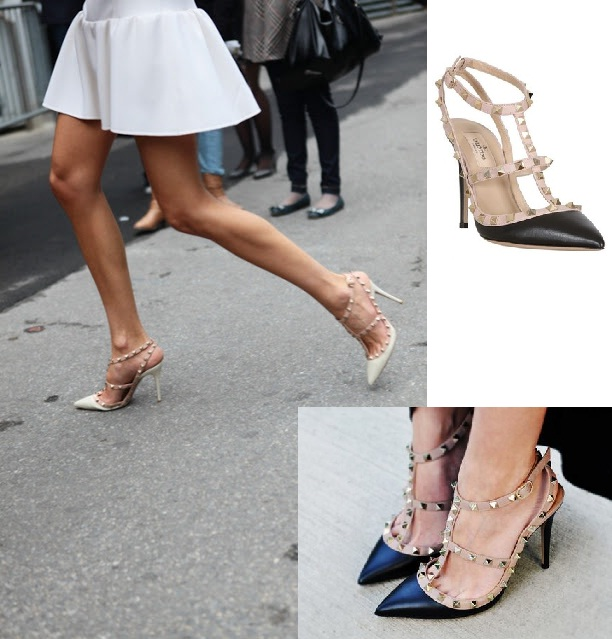 The Studded stiletto heel